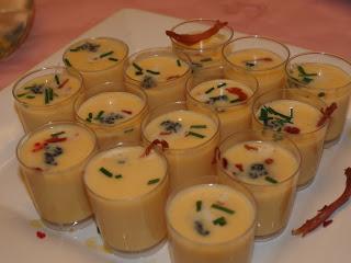 Crema de Coliflor con Caviar de Trucha y Jamón
